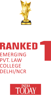 Ranked 1 Emerging pvt. Law College Delhi/ncr