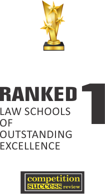 Ranked 1 Law School of outstanding Excellence
